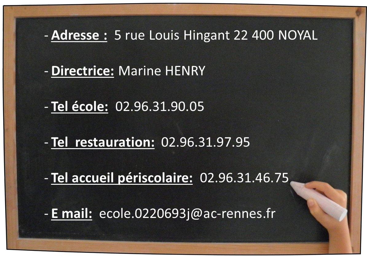 Calendrier Classe De Laurene.Vie Scolaire Commune De Noyal